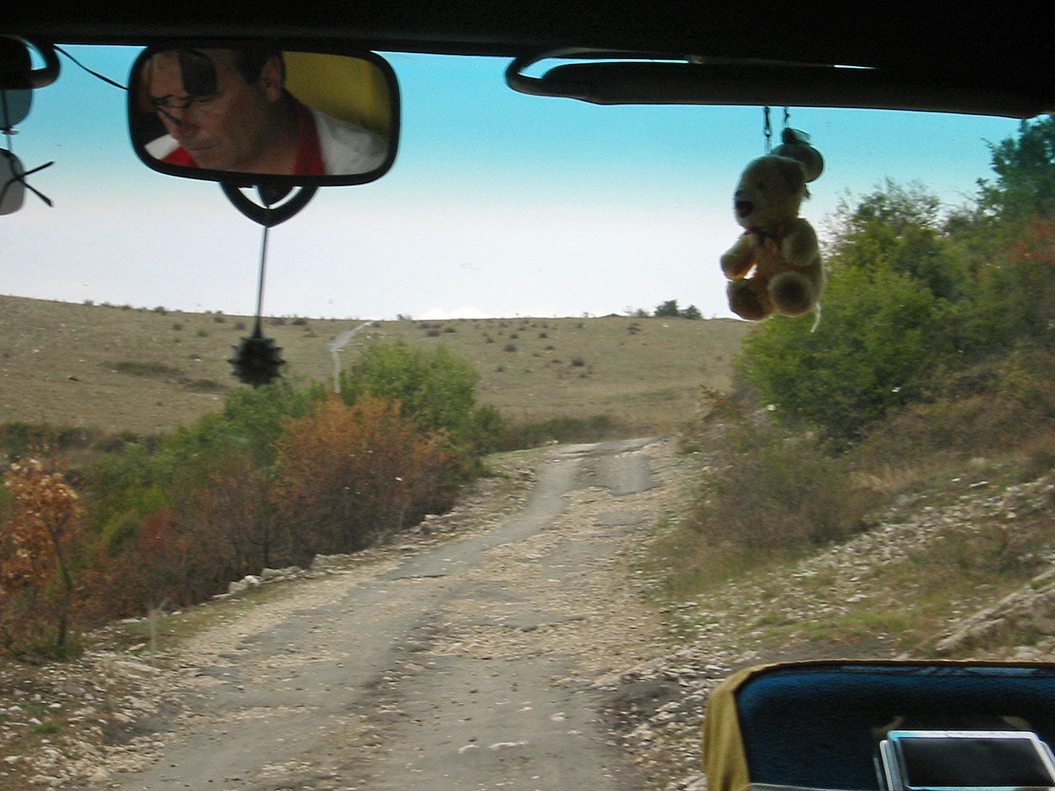 Nebenstrasse in Südalbanien