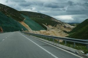 Neue Autobahn nach Südalbanien