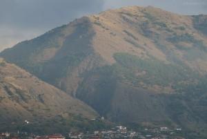 Berge bei Drenova