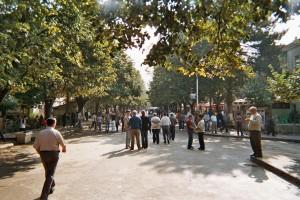 Fussgängerzone im Zentrum von Peshkopia