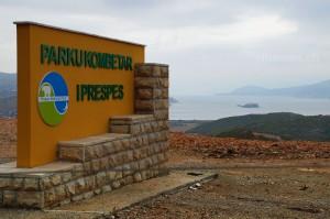 Nationalpark Prespa: See und Insel Maligrad