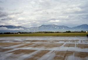 Flughafen Tirana und Skanderbeg-Berge