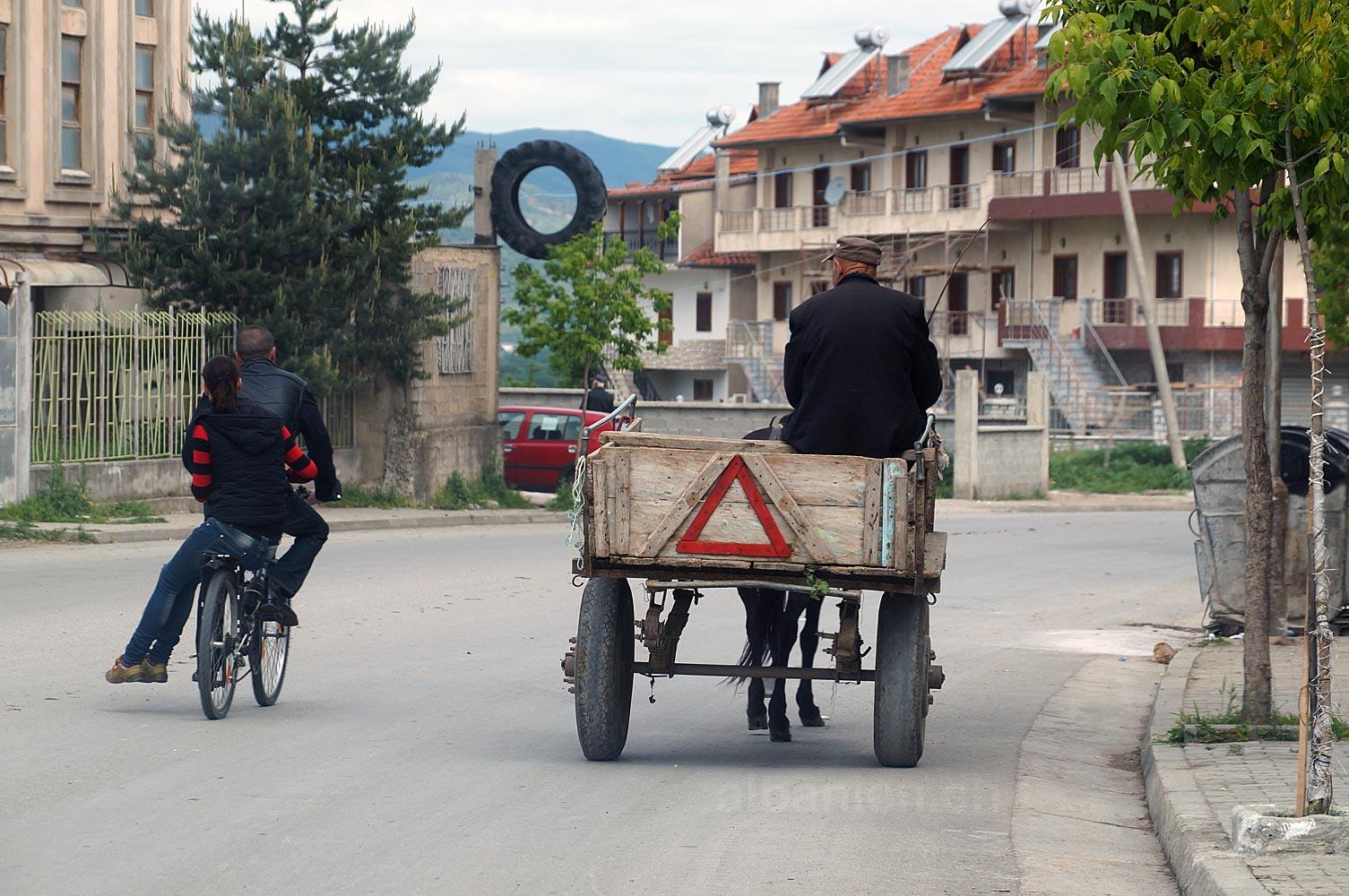 Verkehr in Korça