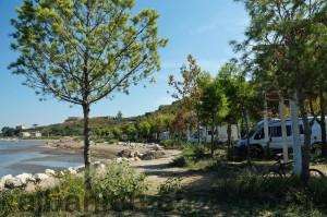 Campingplatz südlich von Durrës