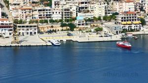 Saranda: Hafen
