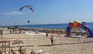 Paraglider in Drymades