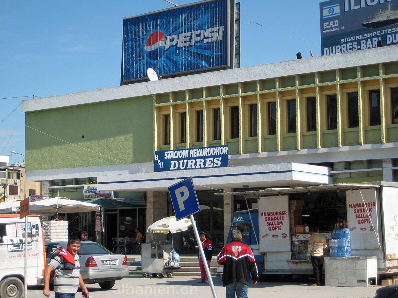Durrës Bahnhof