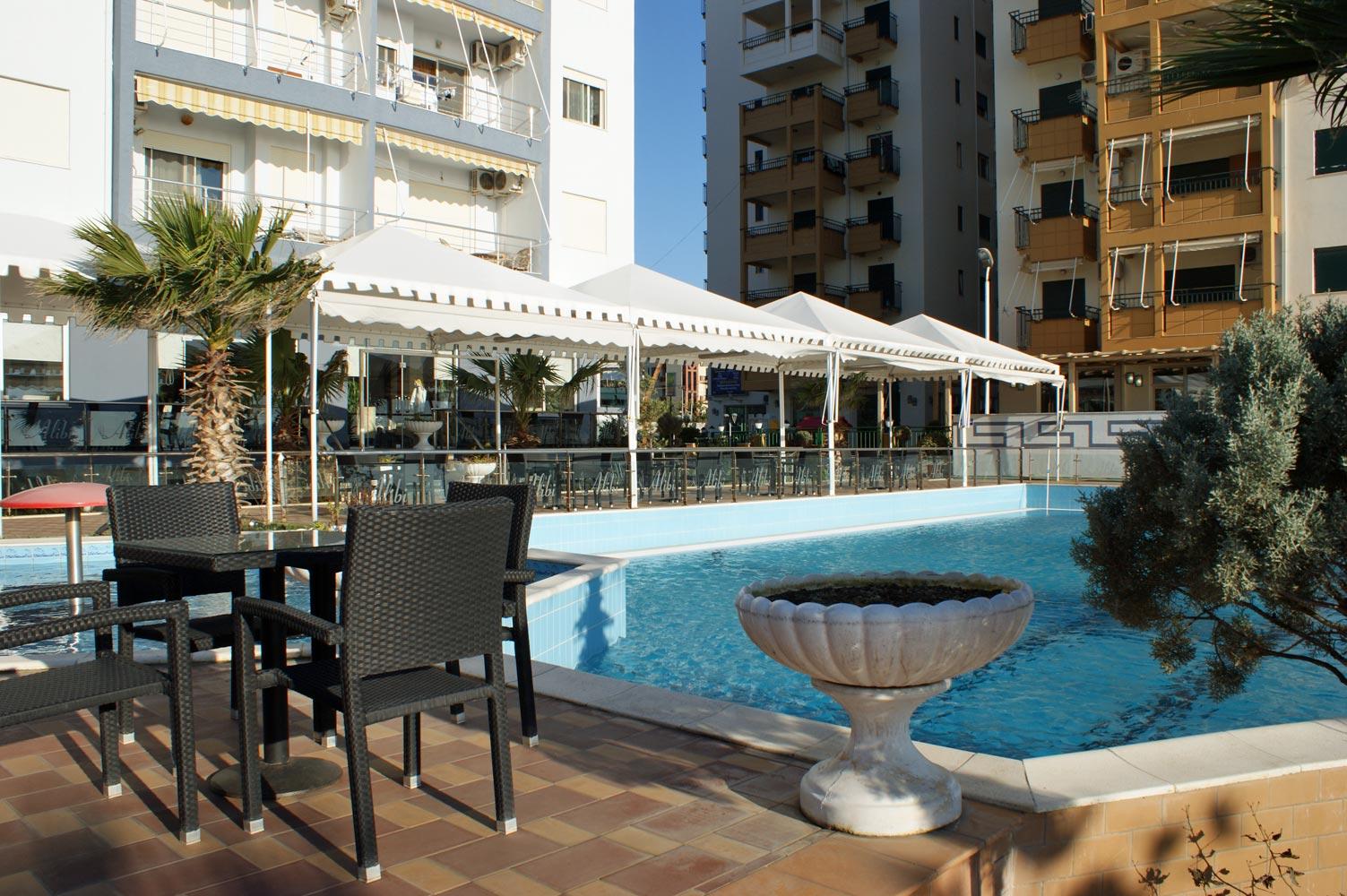 Durrës Plazh Hotelanlage