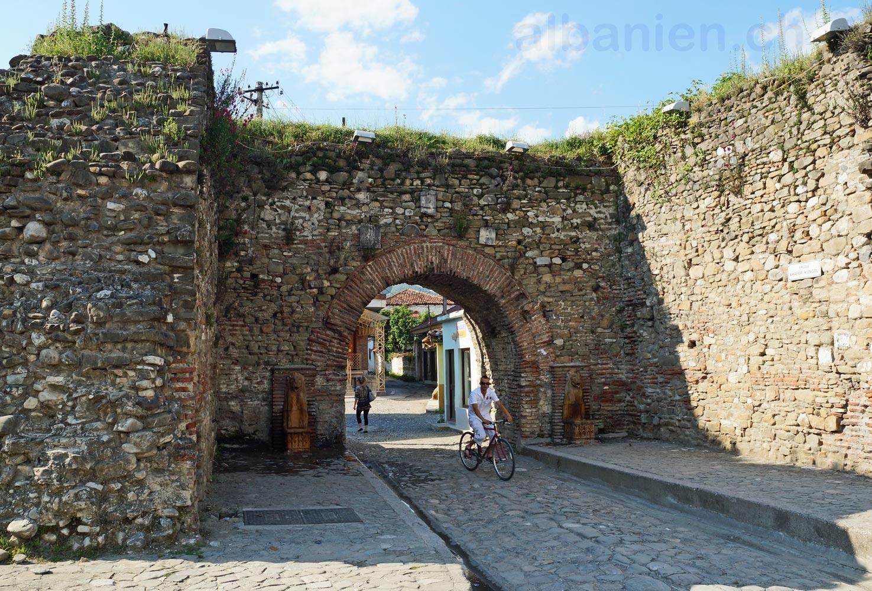 Elbasan Stadtmauer