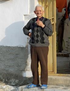 Alter Mann in Korça