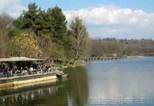 Grosser Park und See
