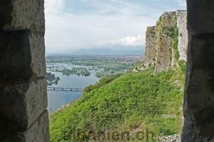 Blick auf die Buna von der Burg