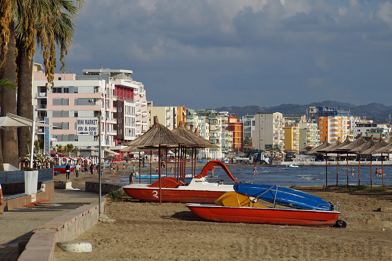 Durrës Plazh Oktober