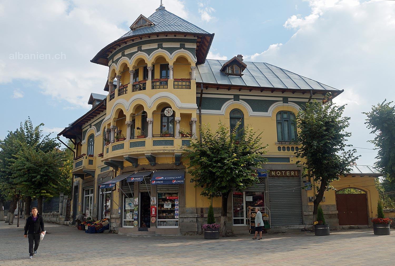 Korça: Rumänen-Haus