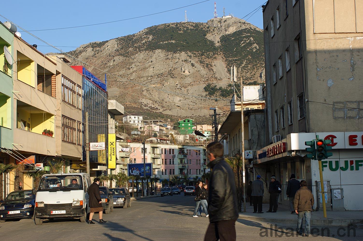 Lezha Hauptstrasse