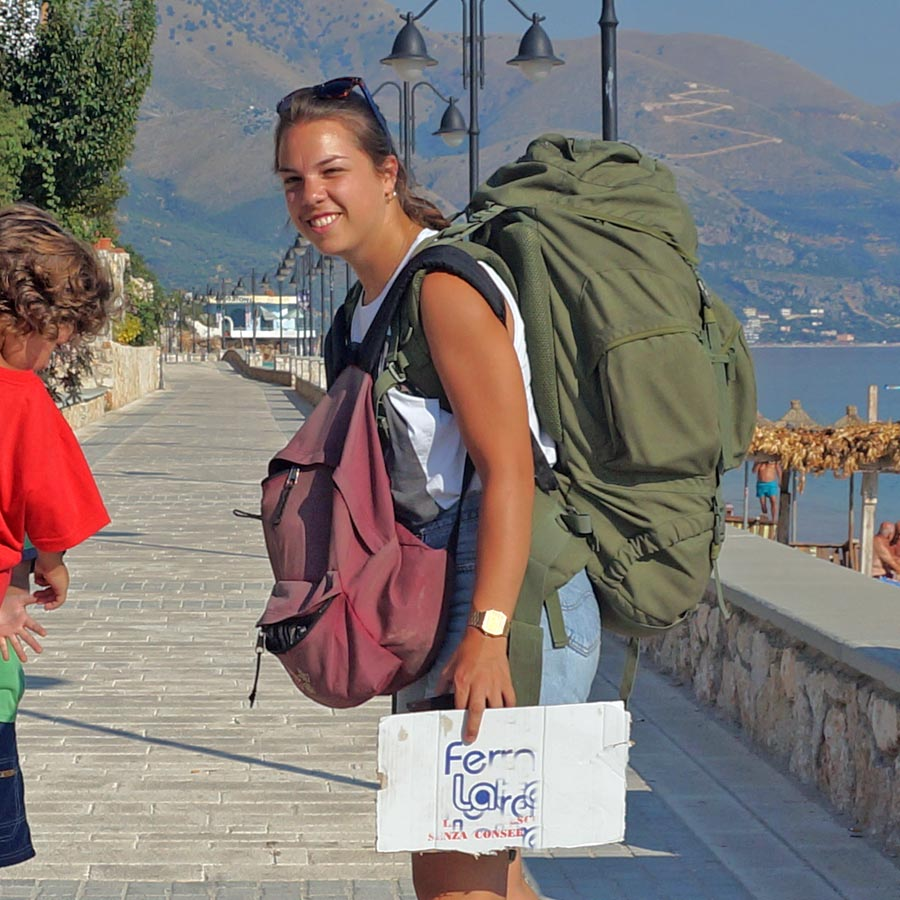 Back Packer Guide Albanien
