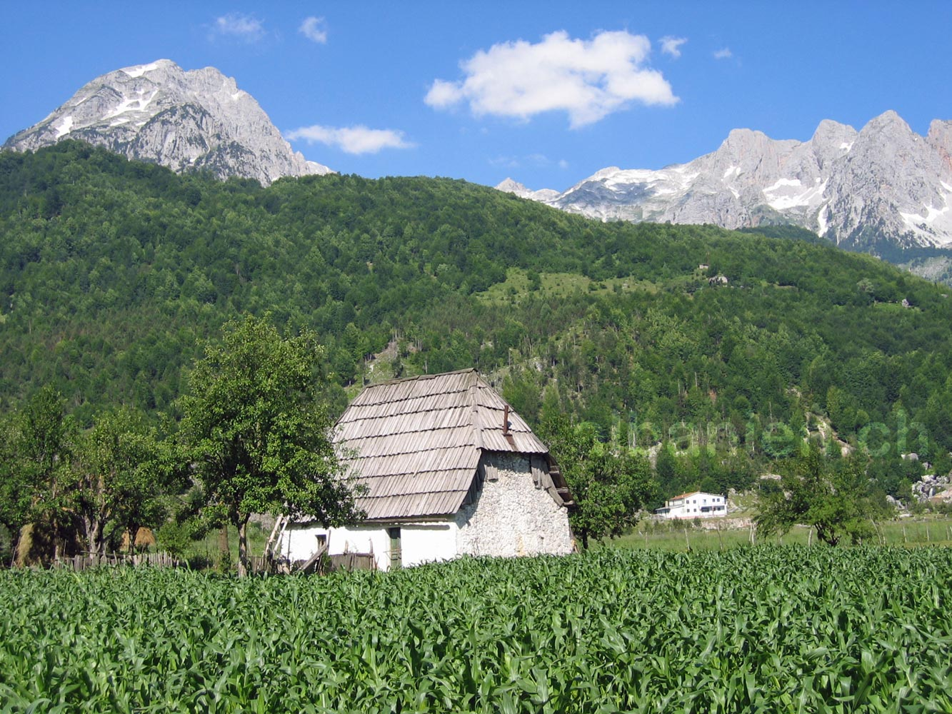 Valbona Dorf