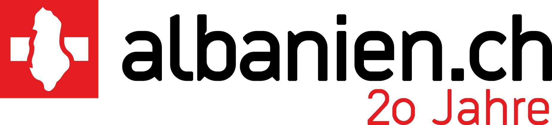 Albanien.ch Logo – 20 Jahre Jubiläum